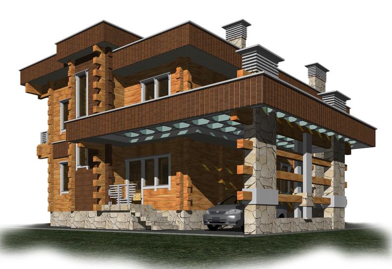 загородный дом - Ларис-Строй Проект, цена, фото и отзывы